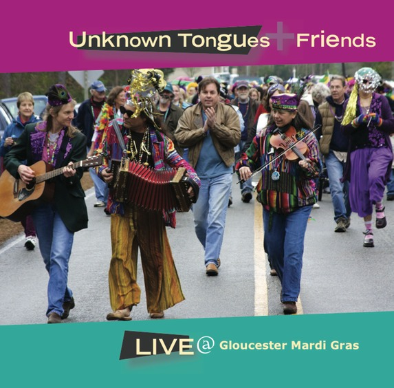 Gloucester Mardi Gras CD cover
