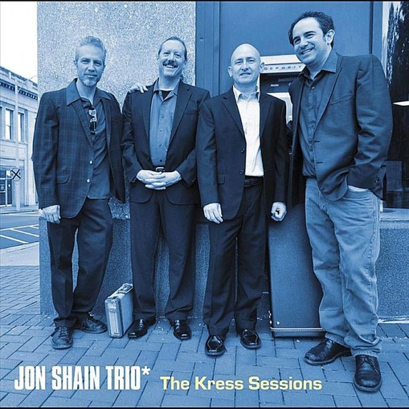 Jon Shain Kress Sessions CD cover